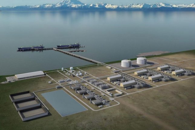 A Chinese bank joined Goldman Sachs in agreeing to help raise equity for a natural gas project in Alaska. Rendering courtesy of Alaska Gasline Development Corp.