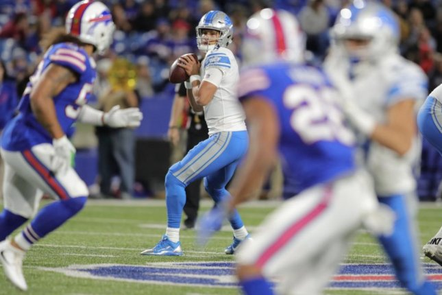 The Indianapolis Colts have waived quarterback Brad Kaaya with an injury designation. Photo courtesy of the Detroit Lions/Twitter