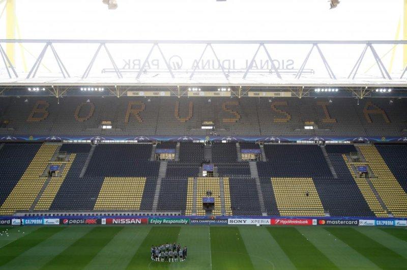 One hurt after explosion near Borussia Dortmund soccer