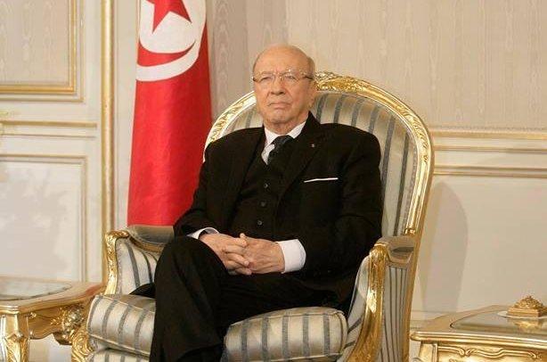 Beji Caid Essebsi was inaugurated president of Tunisia on Dec. 31, 2014. Facebook/Beji Caid Essebi