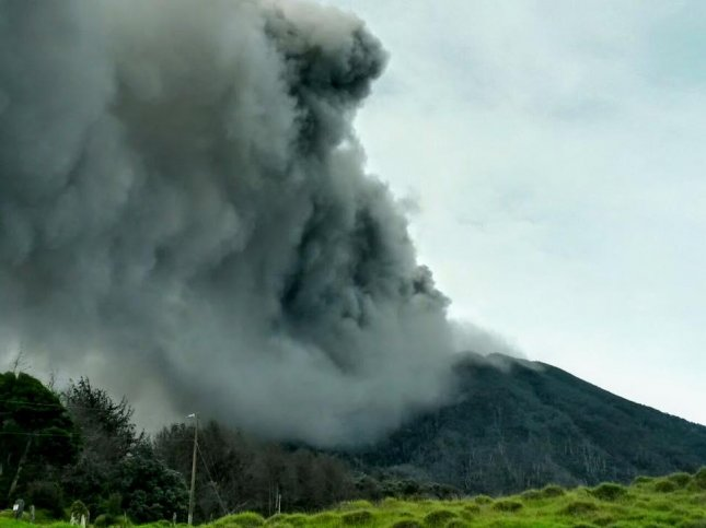 Costa Rica's Turrialba volcano erupted releasing ash about 9,840 feet into the air. The wind carried the ash to the west, leaving the country's capital city of San Jose covered in ash as residents reported strong smells of sulfur. Schools were closed and some flights were cancelled as the National Emergencies Commission encouraged residents to wear masks and tight clothing to protect themselves from breathing and skin problems.  Photo by National Emergencies Commission/Facebook