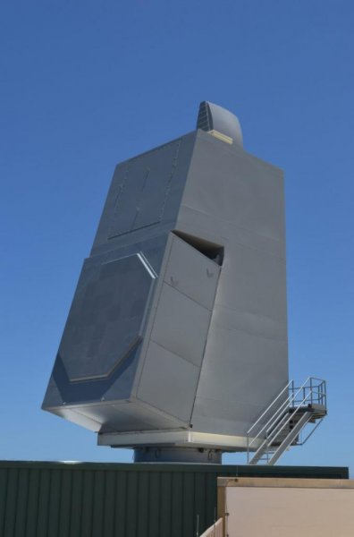 The Raytheon-built AN/SPY-6(V) AMDR system. Photo courtesy by Raytheon