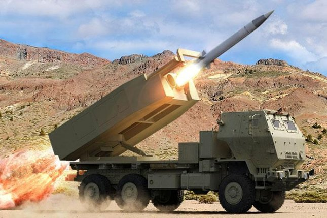 The DeepStrike surface-to-surface missile system completed preliminary design review Monday. Photo courtesy Raytheon