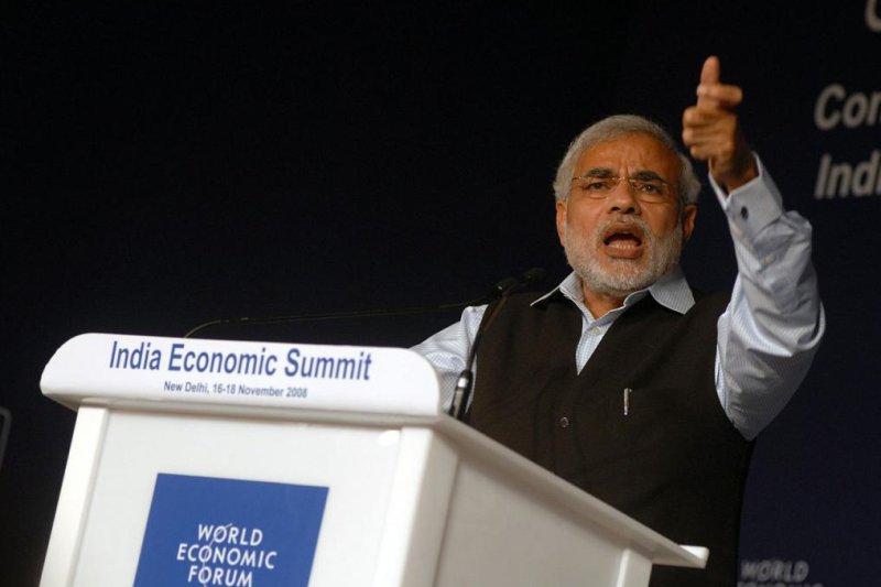 Indian Prime Minister Narendra Modi. (CC/World Economic Forum)