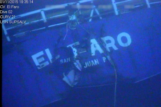 The El Faro cargo ship was found 15,000 feet deep, not far from its last known location near Crooked Island, Bahamas. Photo courtesy National Transportation Safety Board/Flickr