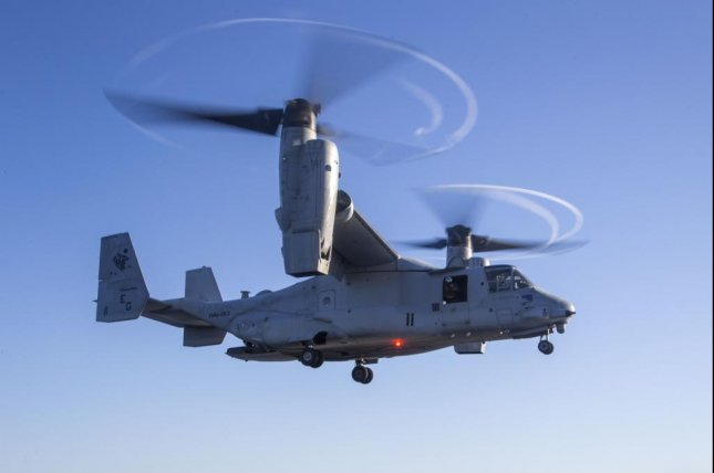 The State Department has approved the potential sale of eight MV-22 Osprey to Indonesia. Photo courtesy of U.S. Navy