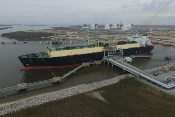 The potential exists for the United States to become the third-largest exporter of liquefied natural gas in a few short years, a federal report finds. Photo courtesy of Cheniere Energy