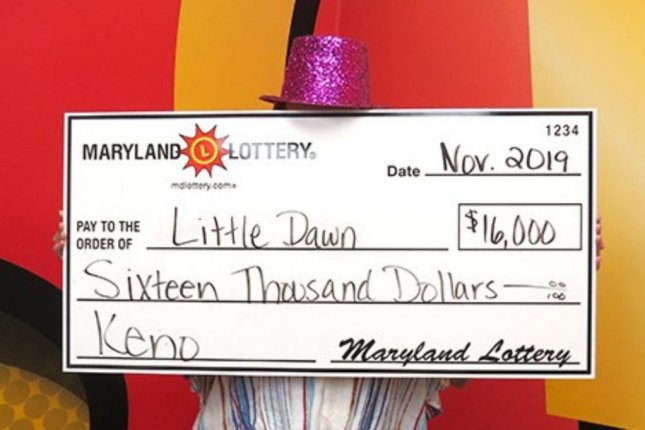 A Maryland woman won two large Keno jackpots in one day. Photo courtesy of the Maryland Lottery