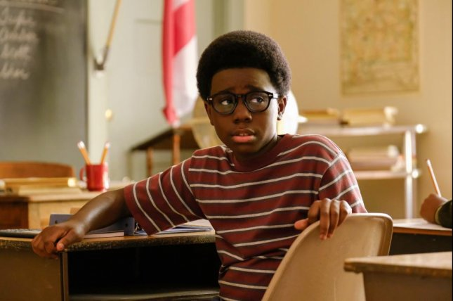 Elisha Williams plays a boy growing up in the '60s in The Wonder Years. Photo courtesy of ABC