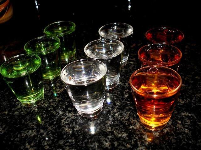 Vodka shooters. (CC/Warrenski)