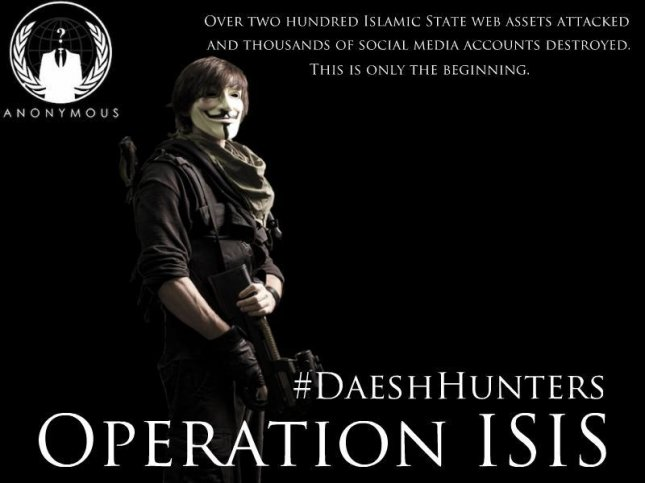 A graphic from the Twitter account of DigitaShadow, an online vigilante that is fighting the Islamic State's presence on the social network. Photo courtesy of @DigitaShadow/Twitter.
