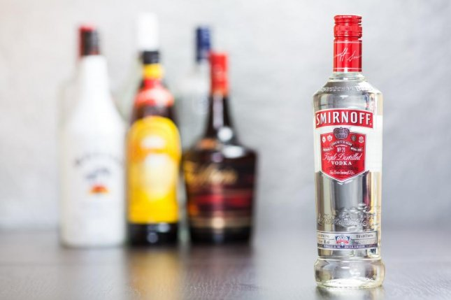 Smirnoff brand was established around 1860 in Moscow and is now owned/produced by British company Diageo, which is now under investigation by the SEC for fluffing up their distribution numbers. Photo by Deymos.HR/Shutterstock
