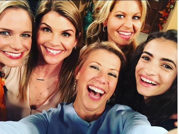 Fuller House' cast celebrate Andrea Barber's birthday while filming