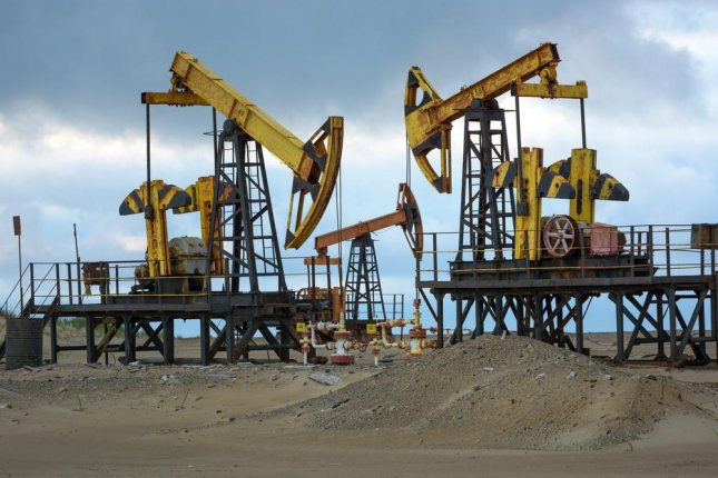 An oil field on Sakhalin Island, off Russia's eastern coast, north of Japan. Photo by Andrei Gribov/Shutterstock