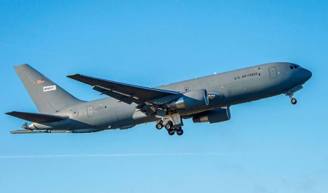 Boeing on Friday announced it will build two more KC-46A tanker planes for Japan's Air Self-Defense Force, bringing its total to four. Photo courtesy of Boeing Co.