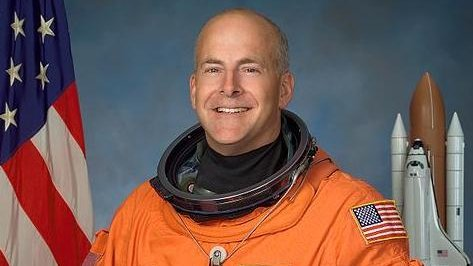 Alan Pointdexter piloted the Atlantis space shuttle in 2008. (Image credit: NASA)