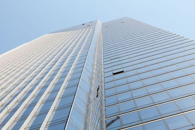 The Millennium Tower Homeowner's Association filed a plan Tuesday with the city of San Francisco to retrofit the 58-story tower's foundation. Photo courtesy Frank Schulenburg/Wikimedia Commons