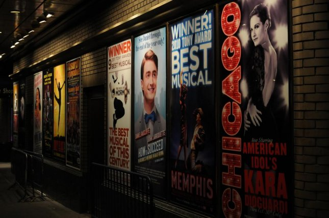 A new site called BroadwayHD began offering on-demand streams of theatrical performances with a paid subscription on Monday. File Photo by Broadway Posters/Flickr