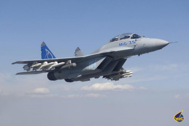 Russia Unveils Latest Mig-35 Fighther