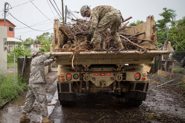 Puerto Rico stands to benefit from a disaster relief bill passed by the Senate on Tuesday. Much of the island remains without power weeks after Hurricane Maria. Photo courtesy U.S. Department of Defense