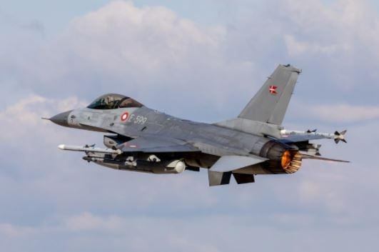 NATO fighter planes scrambled on Tuesday to intercept Russian planes over the Baltic Sea, according to the alliance. Photo courtesy of NATO/Danish Air Force