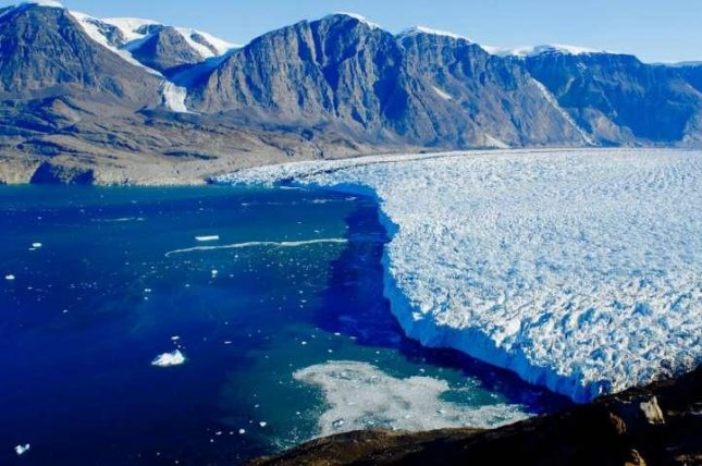 Meltwater is accelerating ice mass loss in glaciers along the coast of Greenland, Dartmouth researchers say. Photo by Dartmouth College