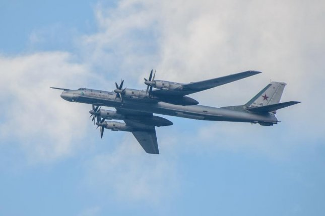 Russia sent two Tu-95 Bear strategic bombers near Japanese airspace on Tuesday, according to Tokyo's self-defense forces. File Photo courtesy of Nick Savchenko/Flickr