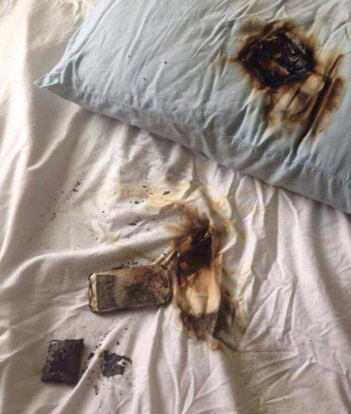New York police: Don't put charging phones under pillows