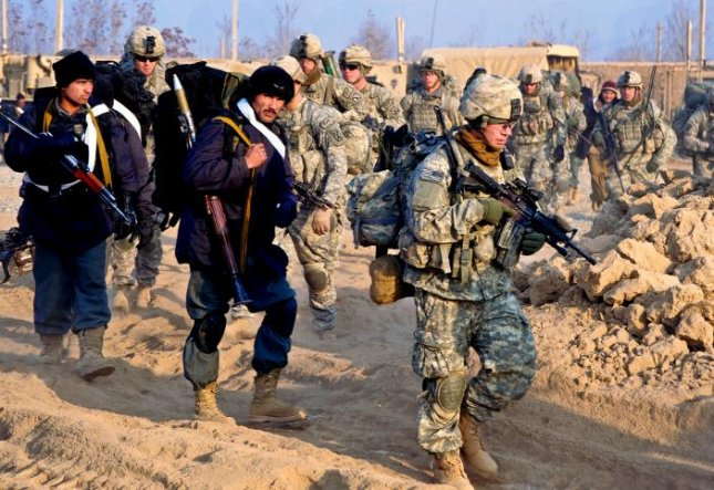 Afghan and U.S. Army troops in Kunduz, province, Afghanistan. The city of Kunduz is withstanding a concerted assault by Taliban militants, Afghan officials said Tuesday. Photo courtesy of the U.S. Army