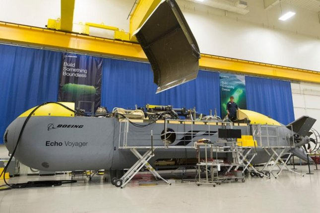 The U.S. Navy awarded Boeing a $43 million contract to build four Orca Extra Large Unmanned Undersea Vehicles, which are based on the Echo Voyager. Photo courtesy of Boeing
