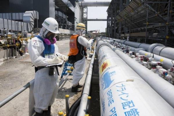 An excavation worker has found what appears to be a an undetonated U.S. bomb from the Second World War at the decommissioned Fukushima Daiichi nuclear plant, the Tokyo Electric Power Company said early Thursday. Photo courtesy TEPCO