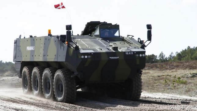 The Piranha V armored personnel carrier. Photo by: General Dynamics European Land Systems - Mowag GmbH.