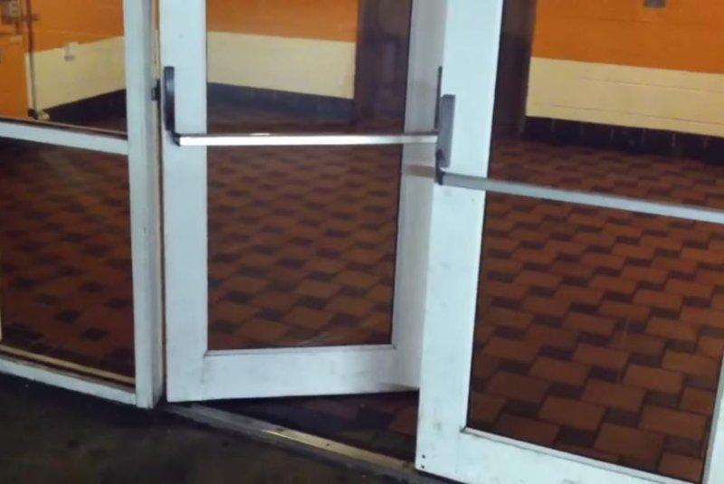 Chicago Parking Garage Door Does Miles Davis U0027impressionu0027