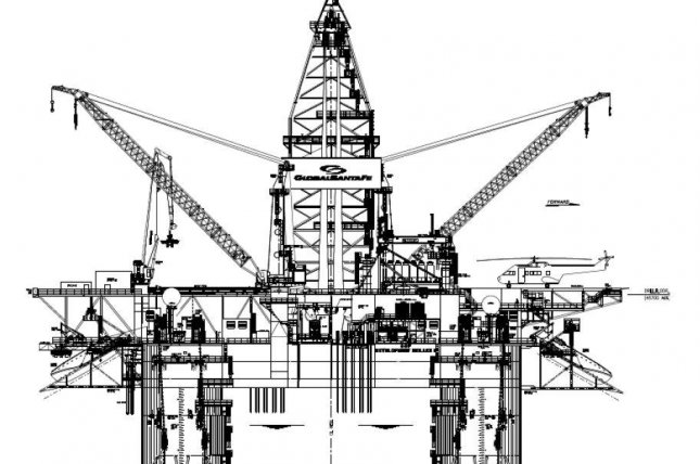 A subsidiary of Exxon Mobil in Angola canceled a contract for Transocean early in the second loss for the rig company this month. Schematic courtesy of Transocean.