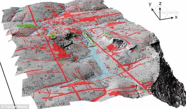 Cambodian lost city uncovered by new scanning technology