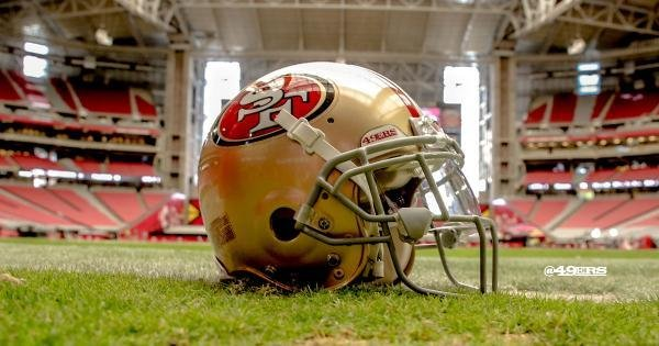 Photo courtesy of the San Francisco 49ers/Twitter