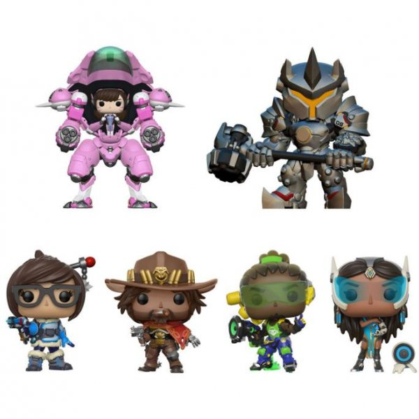 Funko highlighted their upcoming 2017 collectible toy lineup which includes figures based on video games such as Overwatch, Tekken, and Mass Effect. Photo courtesy of Funko/Twitter