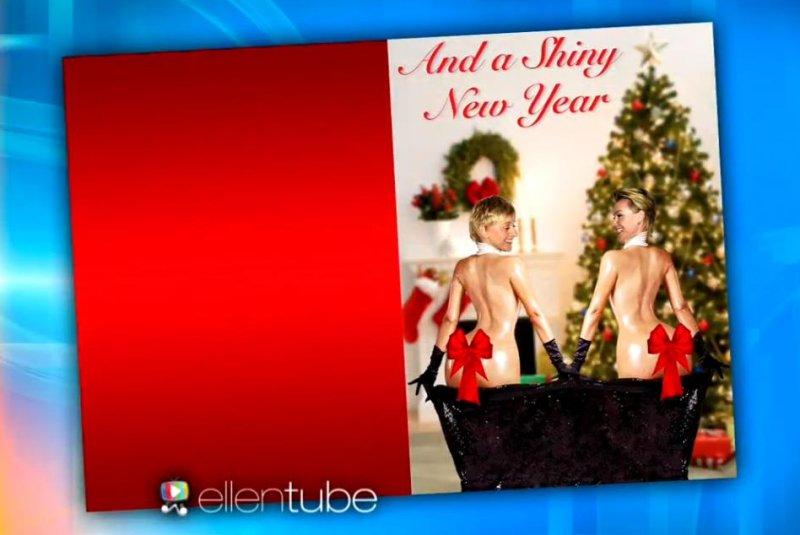 Ellen DeGeneres, Portia de Rossi spoof Kim Kardashian\'s Paper cover ...