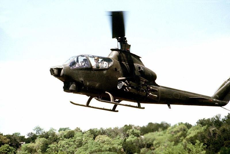 Bell's AH-1 Cobra gunship. Photo from U.S. Air Force.