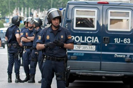 Spanish authorities on February 7, 2016 said they arrested seven suspected members of an Islamic State cell in the cities of Valencia, Alicante and the North African enclave of Cueta. Photo by Peter Scholz/ Shutterstock.com