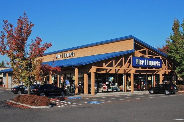 Pier 1 Imports filed for bankruptcy earlier this year and closed nearly half of its 942 stores in January. File Photo bySteve Morgan/Wikimedia Commons