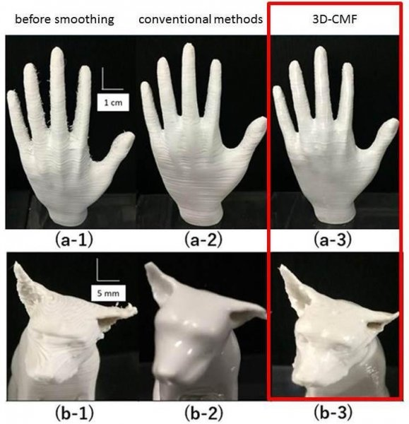 Scientists develop new surface finishing for 3D-printing