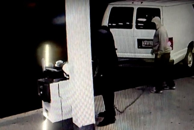 Police in Maryland shared surveillance video of a trio of hapless thieves repeatedly failing to dislodge an ATM from a gas station. 