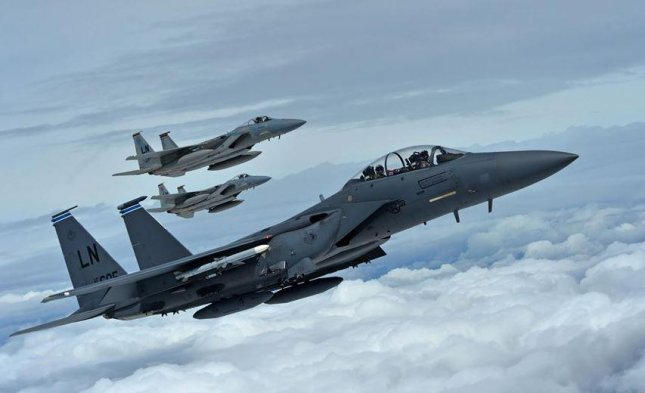 US F-15C fighter jet crashes off Japan's Okinawa