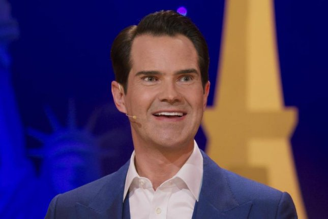 British comedian Jimmy Carr told UPI in an interview that a joke dealing with an uncomfortable or potentially upsetting subject has to earn its place in his set. Photo courtesy of Netflix