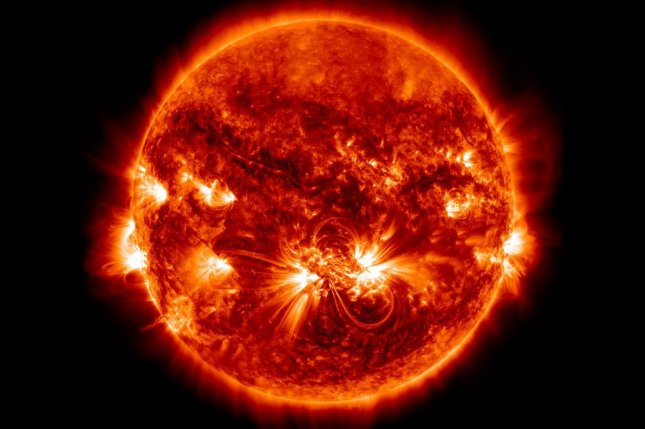 The largest active region of the solar cycle on 23 October 2014.Scientists have discovered that the sun's corona is linked to the 11-year solar magnetic activity cycle. Photo courtesy NASA