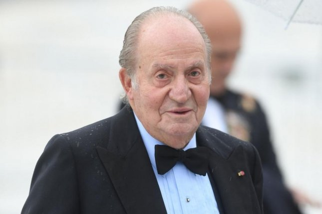 Former Spanish King Juan Carlos I announced Monday he would leave Spain amid public repercussion after financial investigations into his private life. File Photo by Rune Hellestad/UPI