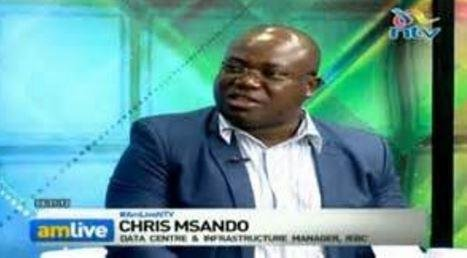 The body of Chris Msando, IT manager of Kenya's Information and Boundaries Commission and spokesman for Kenya's electronic voting system, was found dead on Saturday, days before a presidential election. Screenshot courtesy of IEBC