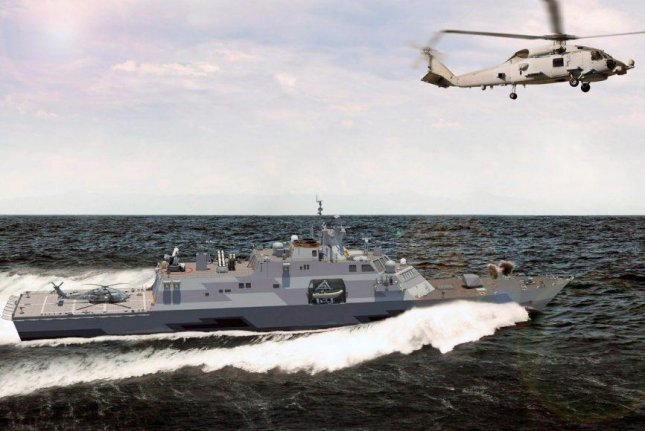 An artists conception of the Multi-Mission Surface Combatant to be purchased by the Kingdom of Saudi Arabia. Photo courtesy of Lockheed Martin