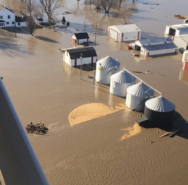 Midwest farmers devastated by uninsured floods